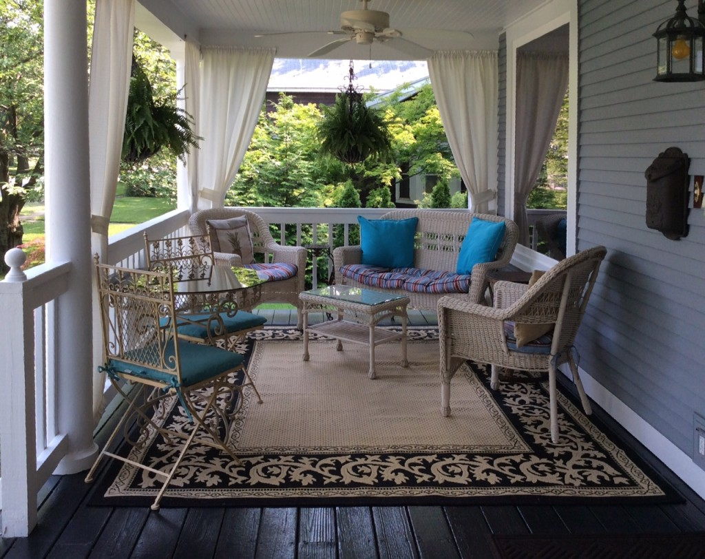Relax and enjoy our covered front porch with a chilled beverage or your favorite book.