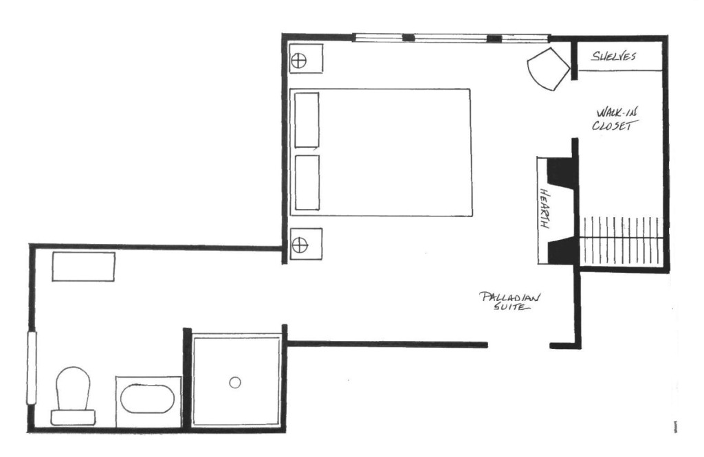Palladian Suite Floorplan.